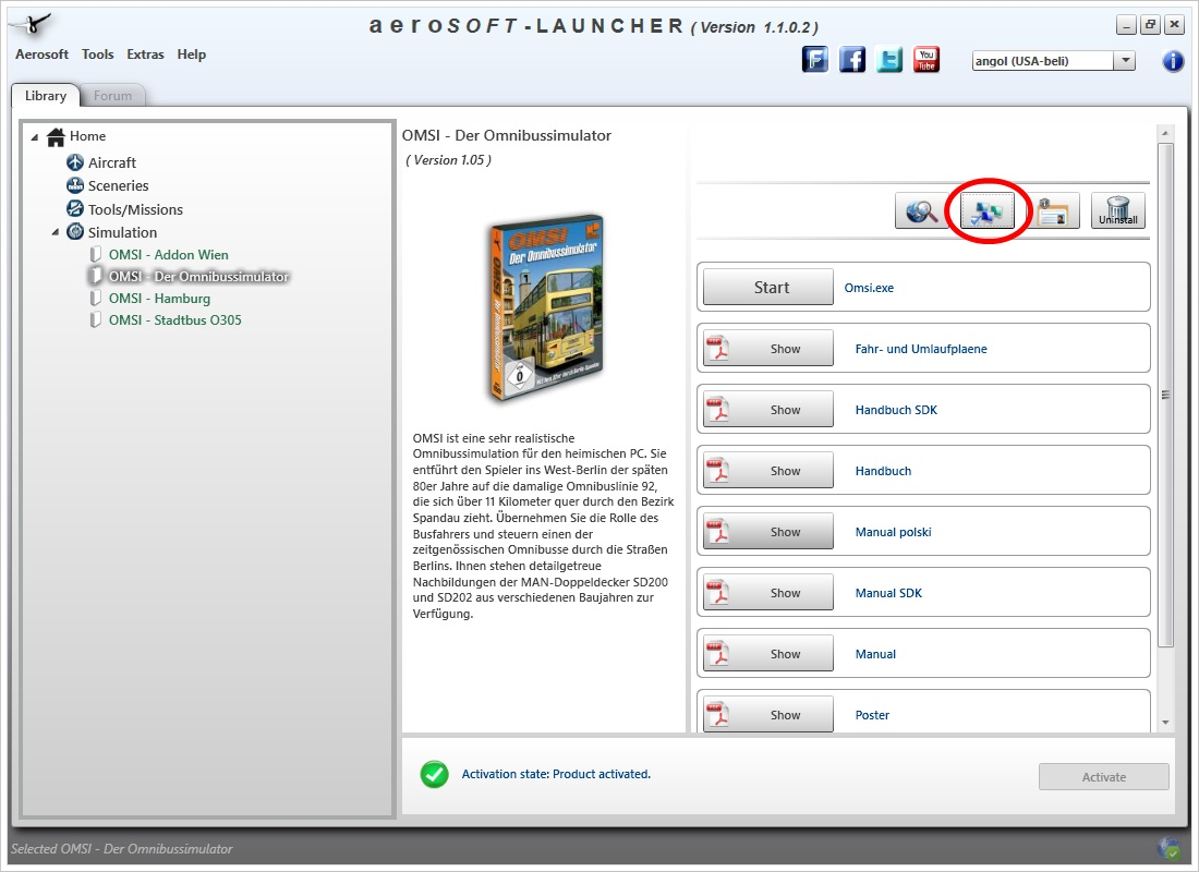 aerosoft launcher product activation key
